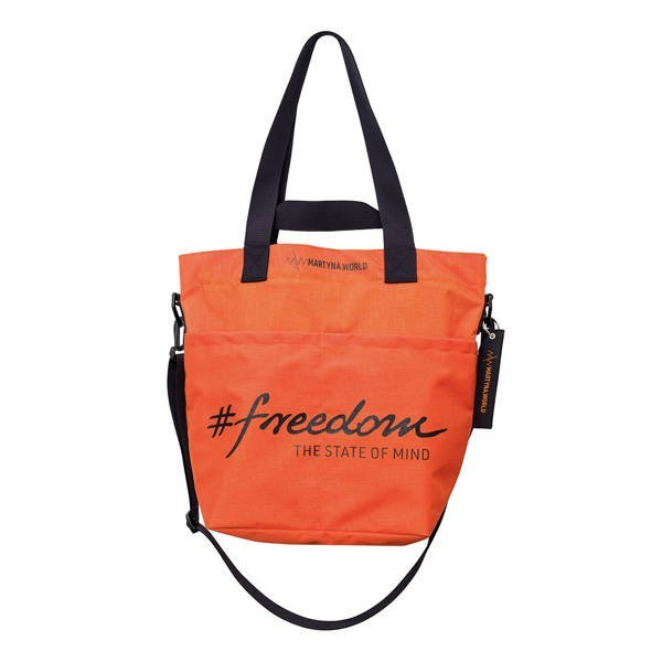 TORBA Z CORDURY #FREEDOM ORANGE SMALL