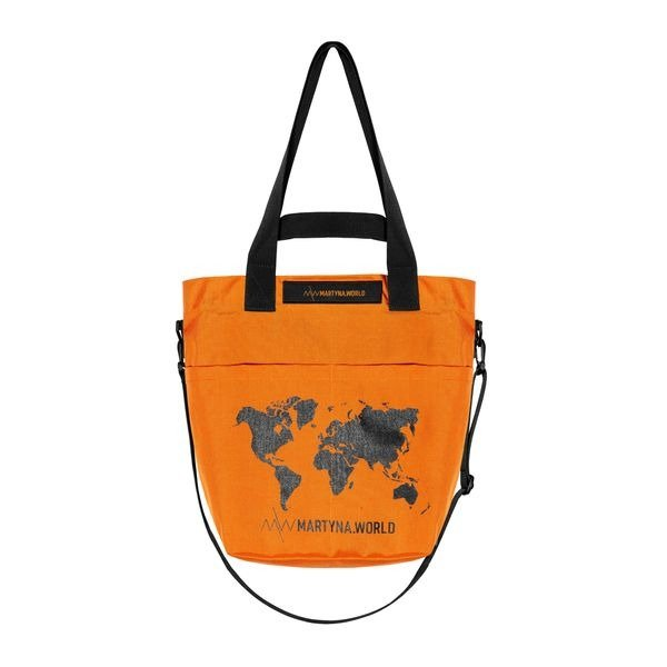 TORBA Z CORDURY M.W ORANGE SMALL
