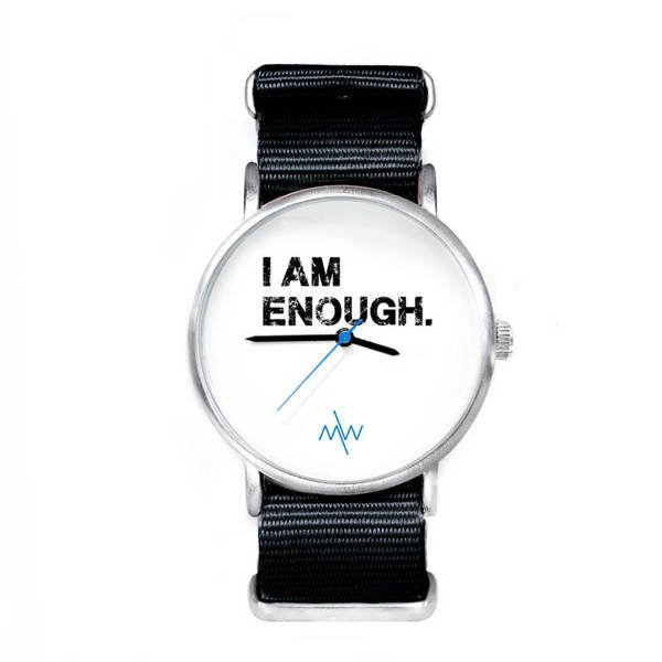 ZEGAREK 'I AM ENOUGH' WHITE