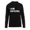 LONGSLEEVE 'I AM ENOUGH' BLACK - ROZMIAR XL z rabatem 7,50 zł